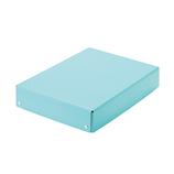 プラス(PLUS) 仕切り箱付き 紙製おどうぐばこ FL-196SF 79901 ブルー│デスク周り用品