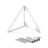 ラブリコ トライアングルフレーム S WPW‐64 ホワイト│チェーン・金具 棚受け金具