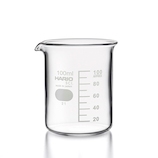 ハリオ(HARIO) ビーカー B‐100‐SCI 100mL│実験用品 ビーカー・フラスコ