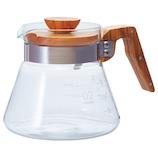 ハリオ(HARIO) コーヒーサーバー_600mL VCWN−60−OV オリーブウッド│茶器・コーヒー用品 コーヒードリッパー・フィルター
