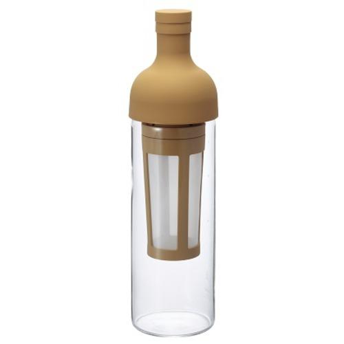 ワインボトル型の水出しコーヒーボトル ハリオ コーヒーボトル FIC−70−MC モカ