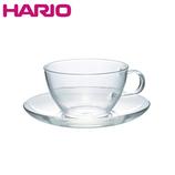 ハリオ(HARIO) 耐熱ティーカップ&ソーサー TCSN-1T
