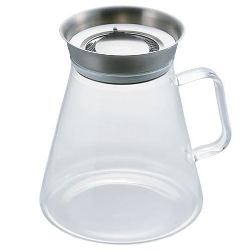 ハリオ(HARIO) ティーサーバーSImply 700mL TS-70−HSV│茶器・コーヒー用品 ティーポット