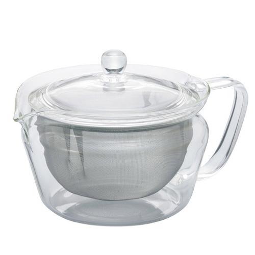 ハリオ(HARIO) 茶茶急須 禅 CHZ−45T クリア