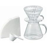 ハリオ(HARIO) V60 Glass Brewing Kit│茶器・コーヒー用品 コーヒードリッパー・フィルター