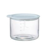 ハリオ(HARIO) ビネガーズ フードコンテナ 400mL│保存容器 ガラス保存容器