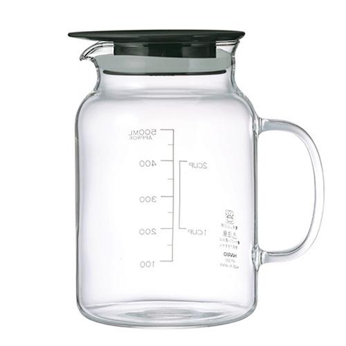 ハリオ(HARIO) ビネガーズ フルーツポット500 VFP-500-B│水筒・魔法瓶 ピッチャー・冷水筒