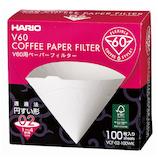 ハリオ(HARIO) V60用ペーパーフィルターW VCF-02-100WK 100枚入