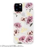 【iPhone11Pro】 HABITU SUMMER FLORALS KINA│携帯・スマホケース iPhoneケース
