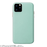 【iPhone11Pro】 HABITU Macaron VEGAN LEATHER MINT