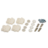 光 石膏ボード用 止め具セット PBST−2 白 4セット入