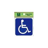 光 車椅子マーク E510−6│サインプレート その他 サインプレート