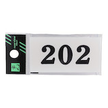 光 番号プレート 202 UP357‐202│サインプレート その他 サインプレート