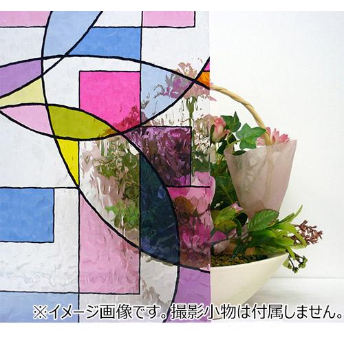 明和グラビア 窓飾りシート HGLS−9252 幅92×丈90cm