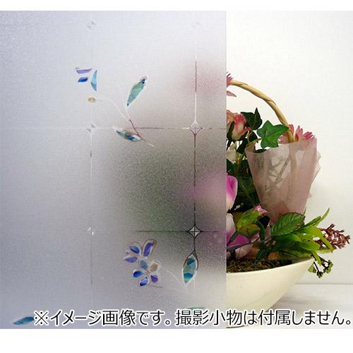 明和グラビア 窓飾りシート HGPL−9260 幅92×丈90cm│床材・壁材 窓用フィルム