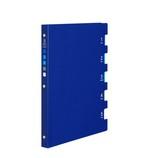 マルマン ファイブチャートライトA B5 26穴 F115−02 ブルー