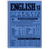 マルマン ノート イングリッシュ B5 英習字罫 13段 N524A−02 ブルー