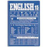 マルマン ノート イングリッシュ B5 英習字罫 15段 N526A−02 ブルー
