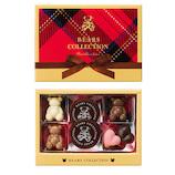 【バレンタイン】 ベアーズコレクション ハーティベア 7個入│プレゼント ギフト プチギフト かわいい 完成品 チョコ 友チョコ 義理チョコ ホワイトデー