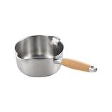 アイカタ アイカタ 両口ステンレスミルクパン16cm│鍋 片手鍋