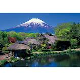 やのまん 忍野村より富士 01-2073 108ラージピース