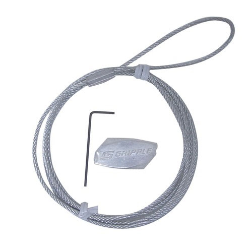グリップル 強力吊り下げワイヤー 2mm×1m