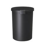 KCUD ラウンドロック ブラック│ゴミ箱 キッチン用ゴミ箱