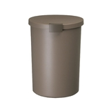 KCUD ラウンドロック ブラウン│ゴミ箱 キッチン用ゴミ箱