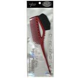 Y.S.PARK カラーコーム&ブラシ YS640 レッド│ヘアブラシ・散髪用品 くし・コーム