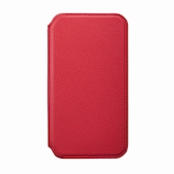 【iPhone12ProMax】 サンクレスト NEWT 抗菌 CAT FLIP レッド│携帯・スマホケース iPhoneケース