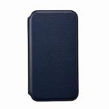 【iPhone12ProMax】 サンクレスト NEWT 抗菌 CAT FLIP ネイビー│携帯・スマホケース iPhoneケース