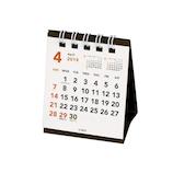 【2019年版・卓上】 CUBIX 4月始まりカレンダー べーシック 205028 プチプチ卓上