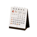 【2020年版・卓上】エムプラン(M-PLAN) 4月始まり カレンダー ベーシック プチプチ卓上 205128