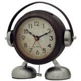ビッグサウンド フットベル目覚まし時計 アミーゴ ウッド