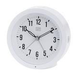 クレファー 常時点灯目覚まし IAC‐5659‐WT│時計 目覚まし時計