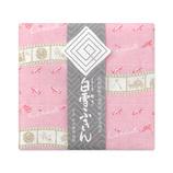 白雪ふきん 友禅 シンデレラ 30×40cm ピンク