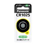 パナソニック コイン形リチウム電池 CR1025 3V