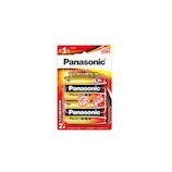 パナソニック(Panasonic) アルカリ乾電池単1形 LR20XJ/2B 2本パック│電池 マンガン・アルカリ電池