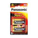 パナソニック(Panasonic) アルカリ乾電池 LR14XJ/2B 単2形 2本入り