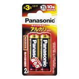 パナソニック(Panasonic) アルカリ乾電池 LR6XJ/2B 単3形 2本入り