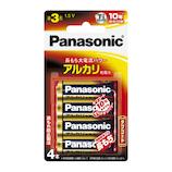 パナソニック(Panasonic) アルカリ乾電池 LR6XJ/4B 単3形 4本入り