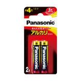 パナソニック アルカリ乾電池単4形 LR03XJ 2B 2個入