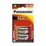 パナソニック(Panasonic) アルカリ乾電池 LR03XJ/4B 単4形 4本入り