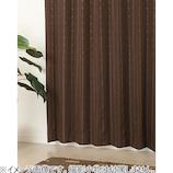 ジェシー 5218 幅100×丈200cm ブラウン 1枚入│カーテン・ブラインド 遮光カーテン