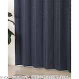 ジェシー 5218 幅100×丈200cm ネイビー 1枚入│カーテン・ブラインド 遮光カーテン