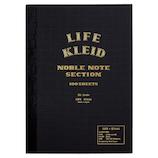 クレイド(kleid) LIFE×kleid ノーブルノート B6 8963 ブラック