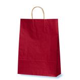 ベルベ カラー手提げ袋 T-8 赤 10枚入