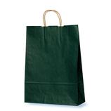ベルベ カラー手提げ袋 T-8 緑 10枚入
