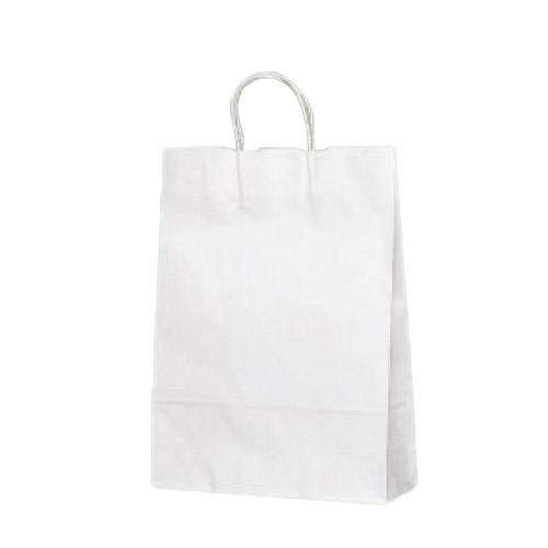 ベルベ カラー手提げ袋 T-8 白無地 10枚入