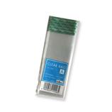 ベルベ クリアバッグ テープ付 A 8×4cm 20枚入│ラッピング用品 ラッピングセット